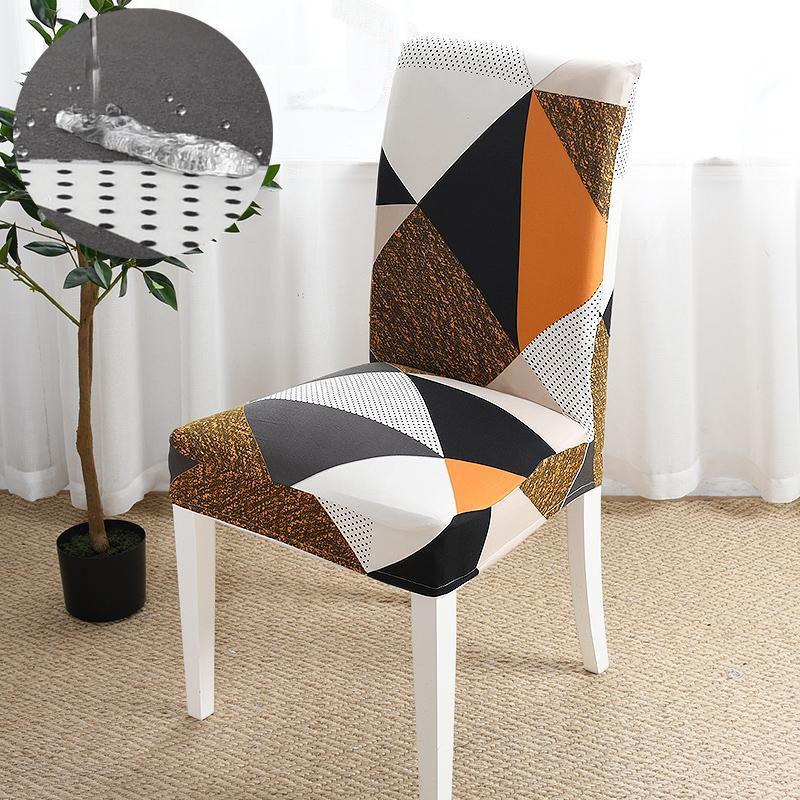 Süper Yumuşak Polar Polar Kumaş Sandalye Kapak Elastik Spandex Sandalye Yemek Odası / Mutfak Streç Kapakları için Kapakları