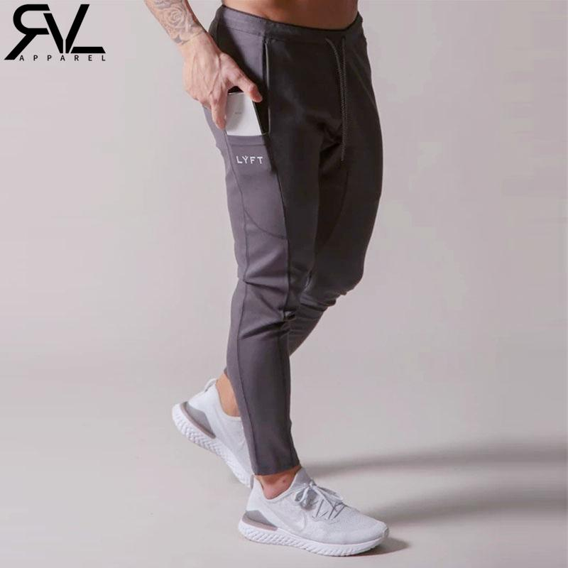2020 Lyft Erkek Sweatpants Joggers Koşu Spor Koşu Pantolon Erkekler Pantolon Eşofman Spor Pantolon Spor Vücut Geliştirme Erkekler Pantolon C1118