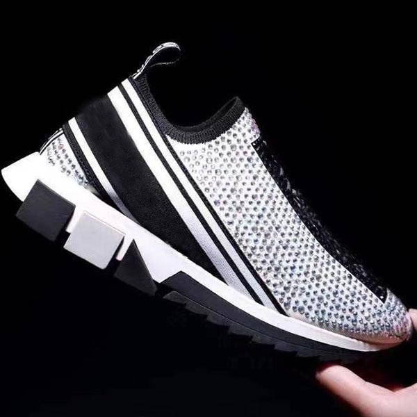 Scarpe casual da uomo e da donna New-Top Fashion Wild Shoots Sports Shoes Sports High-Top Men E Donne Scarpe da viaggio 35-45 con scatola