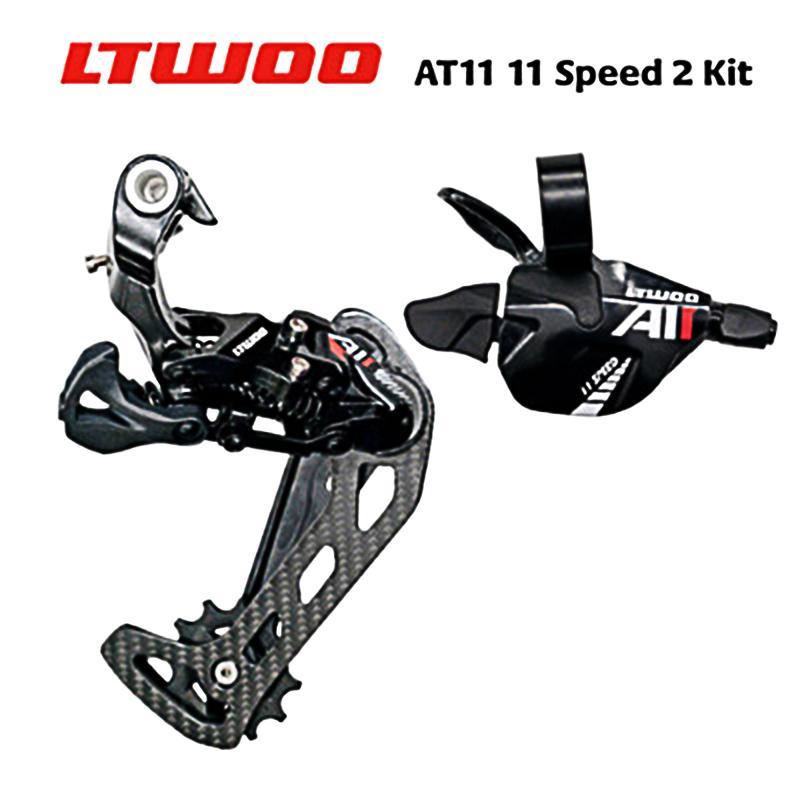 Ltwoo AT11 Trigger Shifter + Derroilleur frontal traseira 11s para MTB compatível com 52Cassete