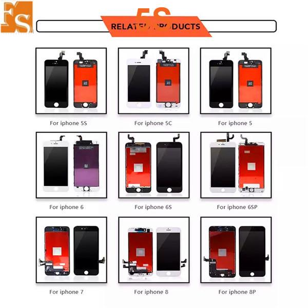 2021 New Year LCD Display For iPhone 5 5S 5C SE Touch Screen Digitizer Assembly Replacement LCD Touch Panel 100% Tested