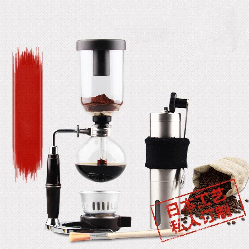 Molinillo de café portátil de acero inoxidable Máquina pequeña y amoladora de café