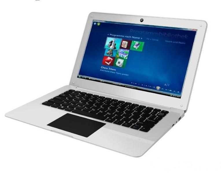 12.5 inch ultra-thin quad-core 64-bit A64 Android 7.1 system netbook business laptop