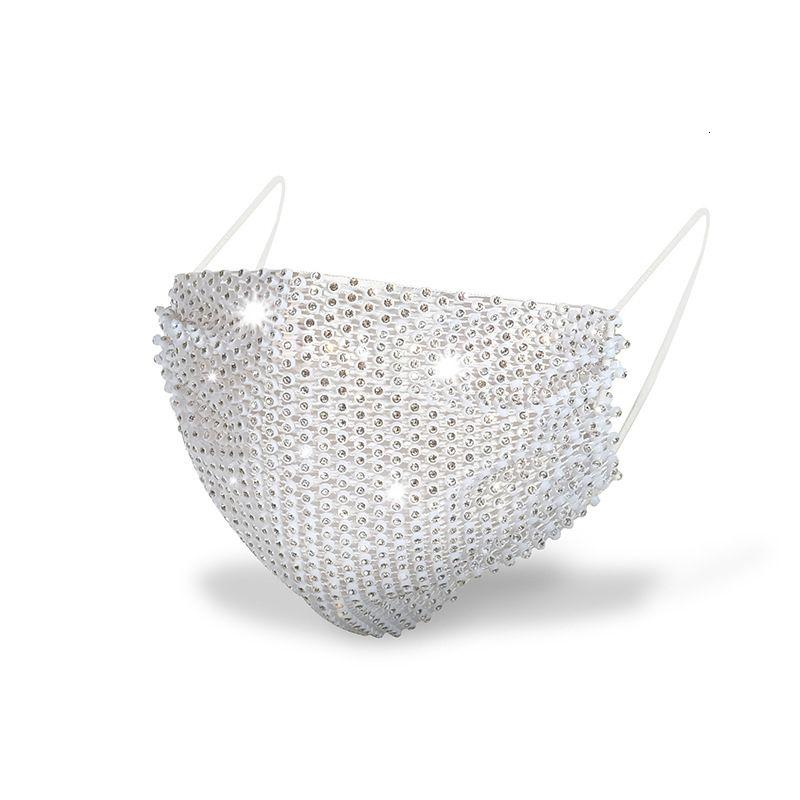 Maschera riutilizzabile del diamante riutilizzabile del diamante del fronte di modo delle nuove maschere delle maschere antipolvere con PM2.5 in magazzino Trasporto libero