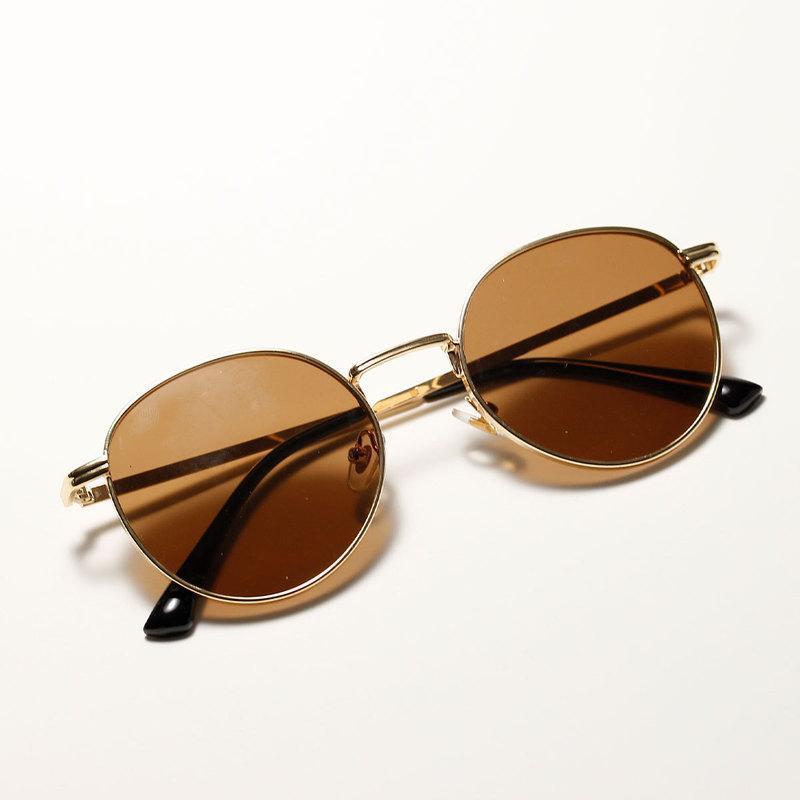Женщины Men Classic Retro Color Fashion UV400 черные роскоши зеркала очки старинные солнцезащитные очки прозрачный объектив круглые женщины солнце WKJTF