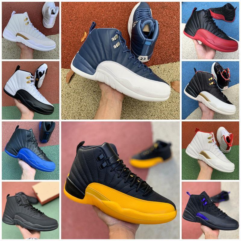 Nuevo 12 13s zapatos de baloncesto para hombres 12s FIBA BULLS Hot Punch 13 Flint Wolf Grey Mens Sports Shoes 5.5-13
