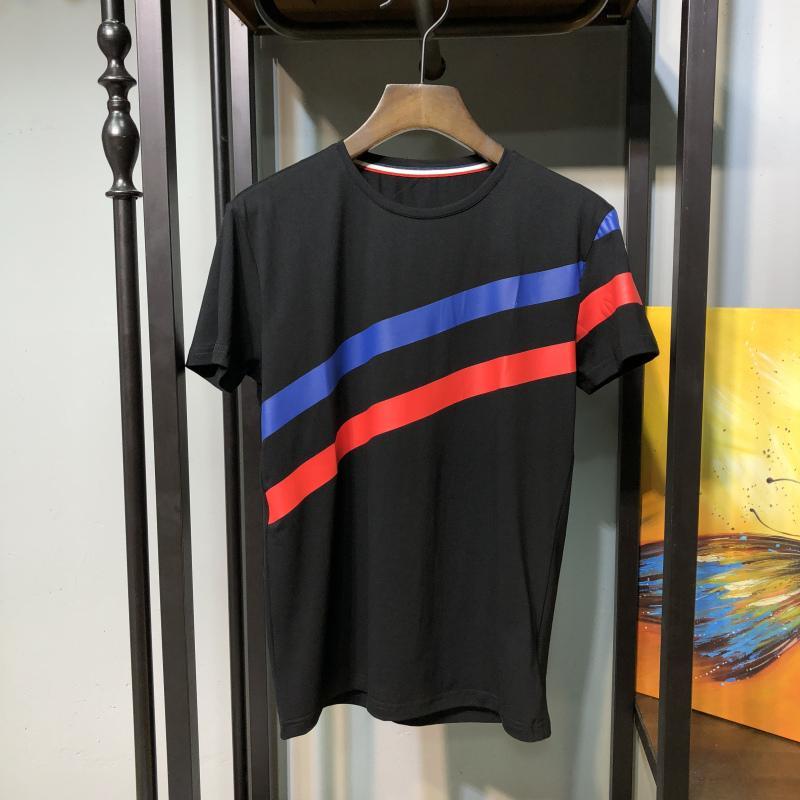 Hot Sale Mens T Shirt Summer T Shirt High Quality Mens Stylist T Shirt Hip Hop Men Women Black Short Sleeve Tees Size S-XXL