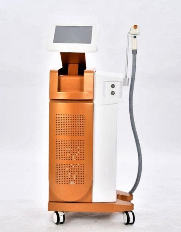 Professional 755 1064 808nm Ice Platinum Soprano Laser 808NM Удаление волос Диод-лазер для всех видов Омолаживание цвета кожи