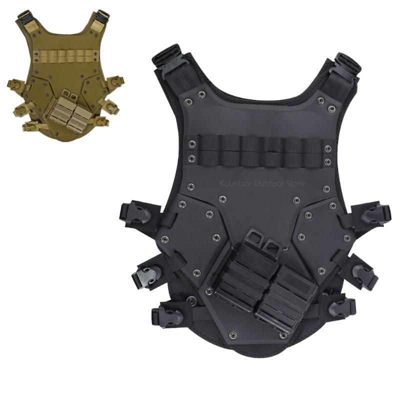 Chaquetas de caza Chaleco táctico Armadura de cuerpo JPC Molle Placa Portador Al aire libre CS juego Paintball Equipo