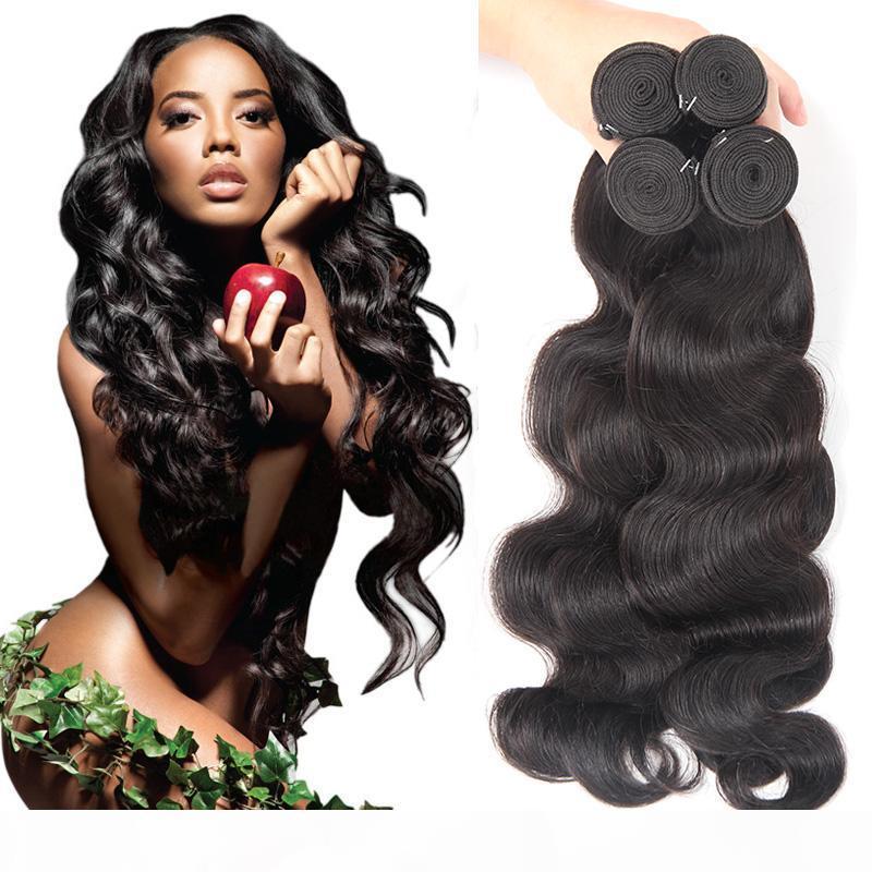 Pacotes de cabelo virgem brasileira cabelo onda corporal tecida kinky encaracolado onda profunda água reta extensões de cabelo humano