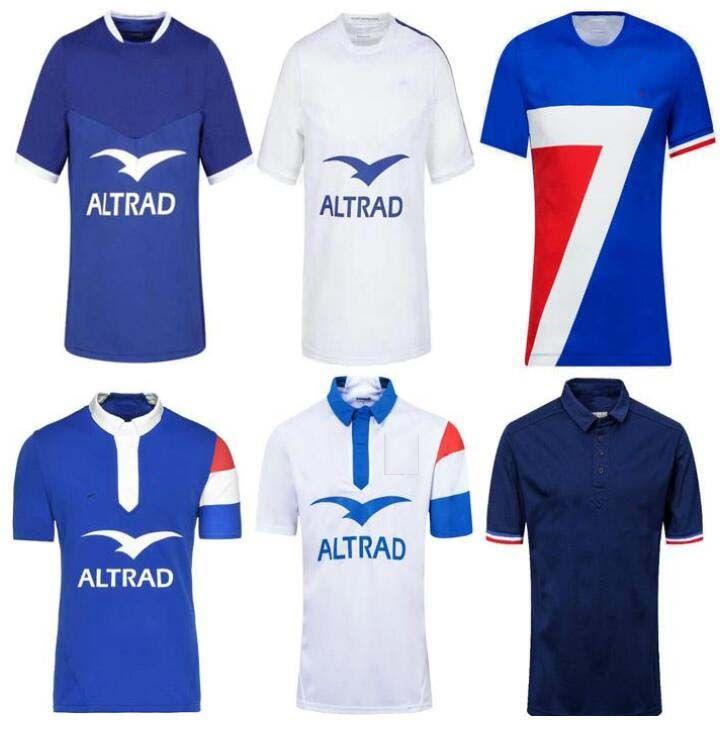 Топ 20 21 Франция Супер регби Джетки жилет с курткой 2020 2021 Франция Рубашки регби Майолот де Пешком Французский Болн регби Таиланд мужская