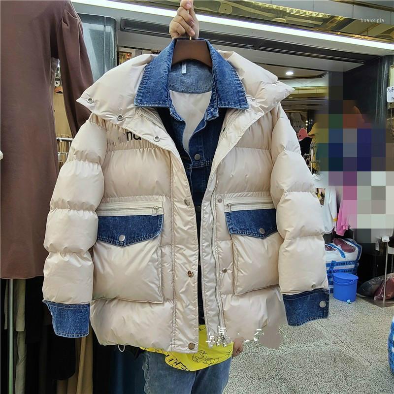 Cappotto imbottito in cotone Women's Winter Warm Parka 2020 Nuovo stile coreano allentato in modo di moda in cotone cappotti di cotone nancilim1