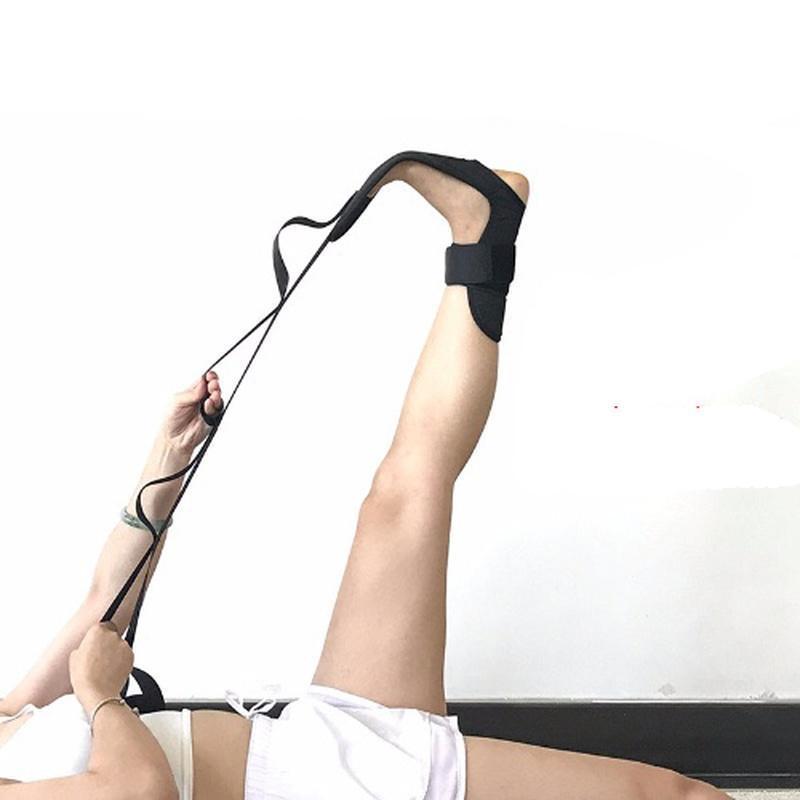 Йога гибкость растяжения ног ремень ремешок для балета здорово танцевальная гимнастика тренер йога гибкость ноги стрелковый пояс