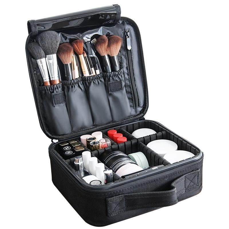 NOUVEAU OXFORD Sacs de maquillage imperméable à imperméabiliser Big Capacité Sac à cosmétiques Femmes Organisateur De Voyage Make Up Sac Case Sac de toilette professionnel Y200714