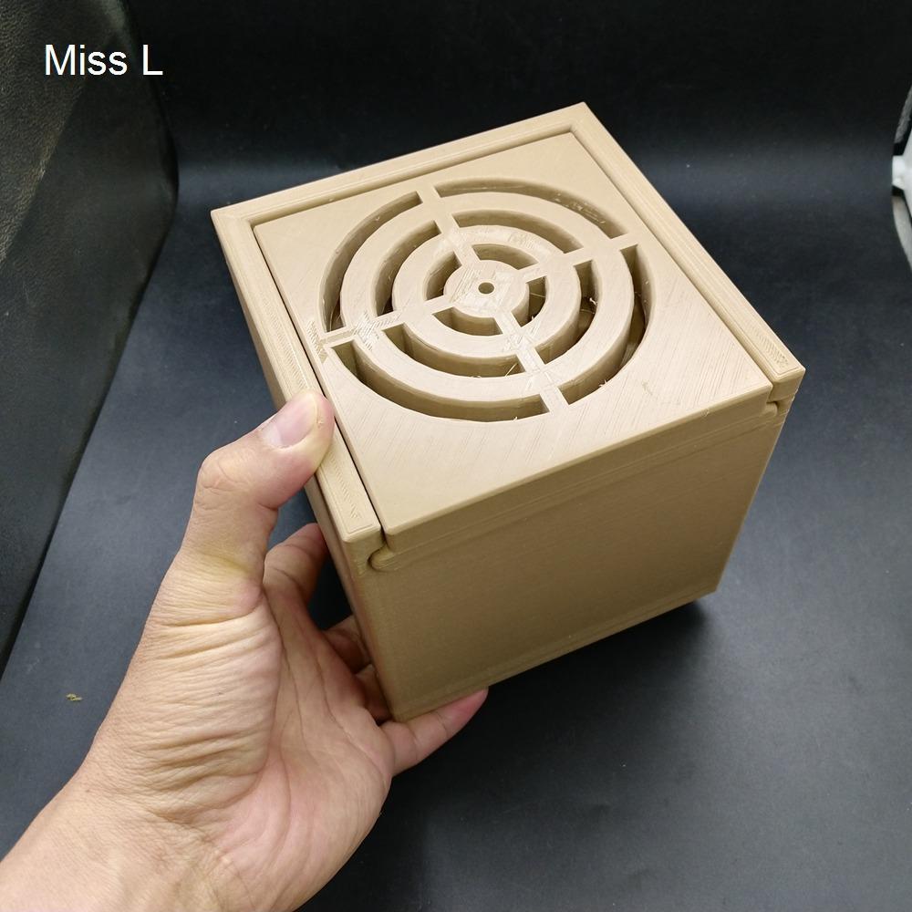 13 * 13 * 13 سم لعبة بسيطة الدماغ دعابة صندوق السري لعبة هدية الاستخبارات المتاهة التوازن لعبة هواية