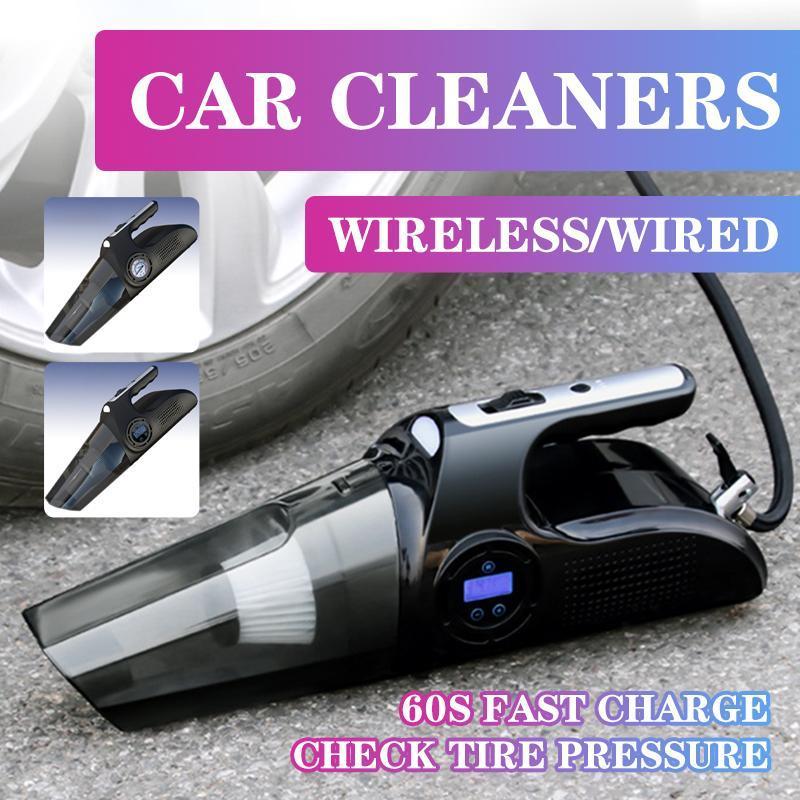 مكنسة كهربائية مكنسة كهربائية محمولة 120 واط عالية شفط مكنسة كهربائية كهربائية غسل يده في السيارات المنظفات السيارات
