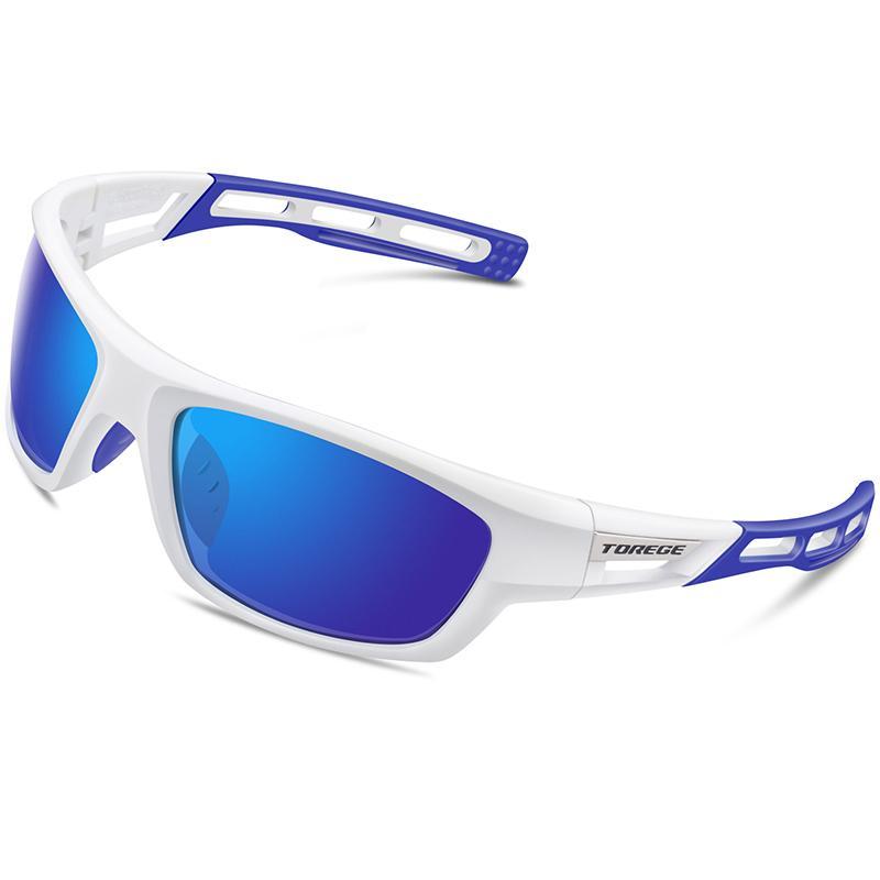 2019 Nouveaux Sports Polarized Sports Lunettes de soleil en plein air pour hommes Femmes Cyclisme Course à la conduite de conduite Lunettes de pêche Golf Baseball TR90 Lunettes