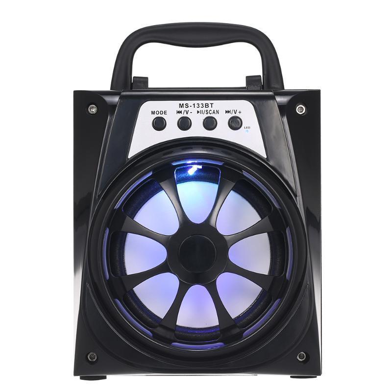 Многофункциональный наружный динамик Super Bass Беспроводные динамики Bluetooth FM Radio MP3 Music Player для мероприятий на открытом воздухе