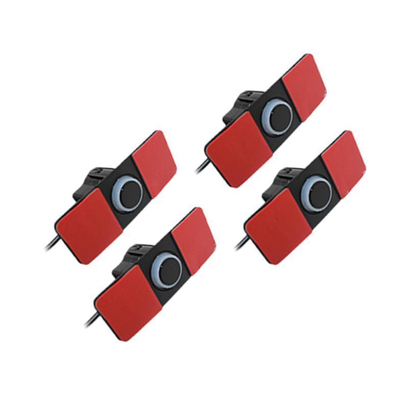 Cámaras de visión trasera Cámaras Sensores de estacionamiento 1 Set Sensor 16.5mm Sound Alert System System System Reverse para vehículo Auto Truck