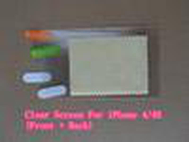 Front + Back Full Body LCD Transparent Clear Scherm Protector Protector Guard Guard per iPhone 4 4G 4S 5 5G 5S 5C con pacchetto al dettaglio
