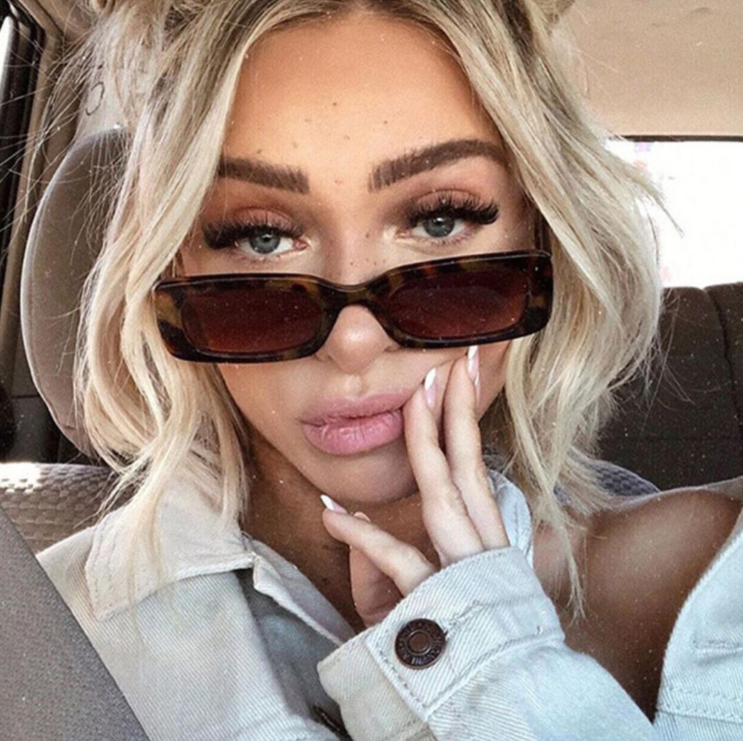 summer newest woman fashion Contracted square sunglasses ladies outdoor driving glasses beach glasses Sunglasses Punk street snap dorp ship