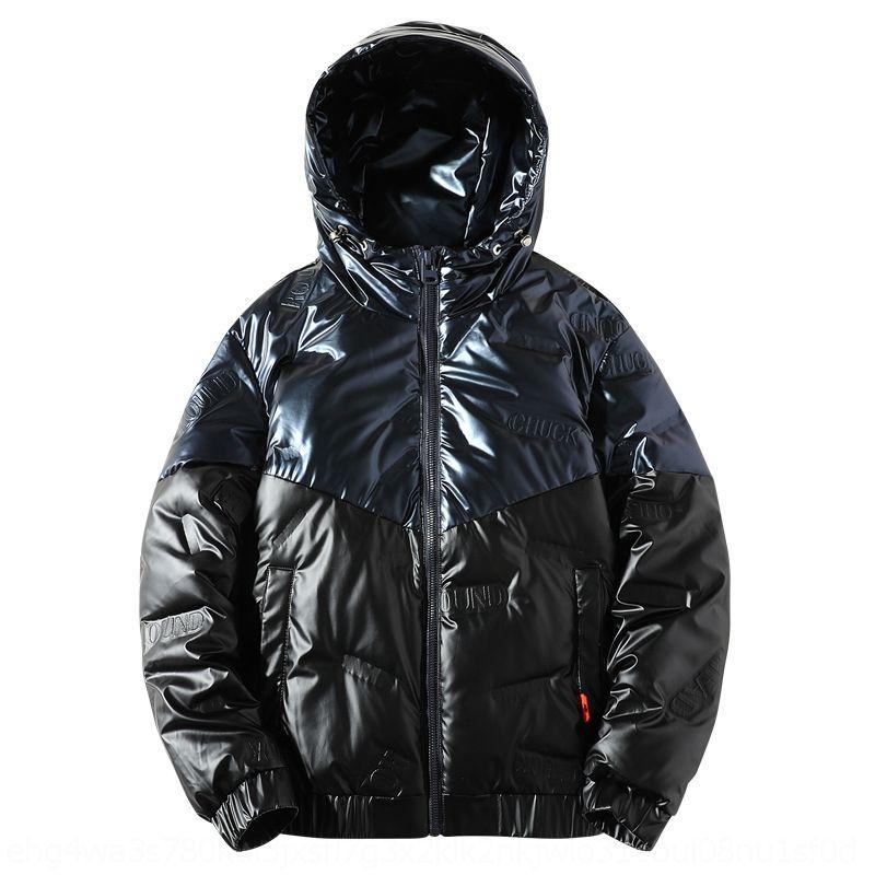 Obyo colorido coloreado-coloreado ropa exterior Cálidos años invierno viejo 0-5 ropa con capucha y abrigo abajo