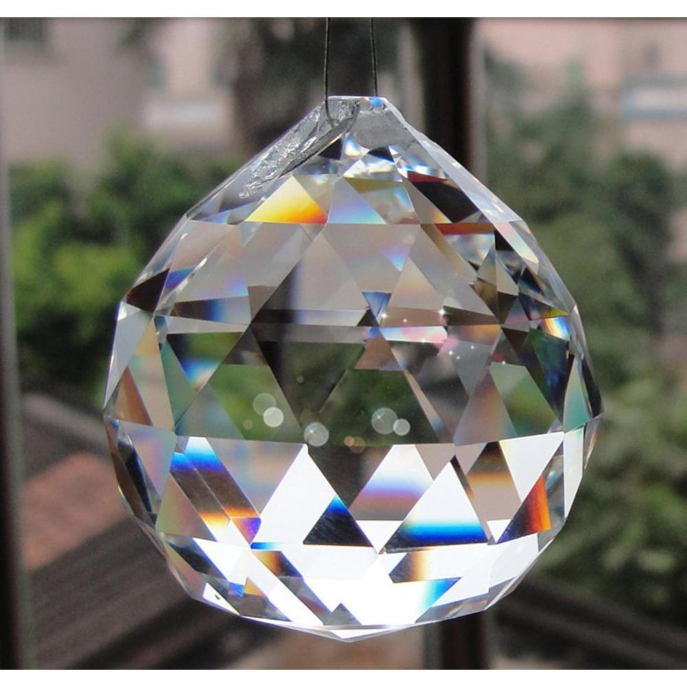 2018 Nuevo Colgante Claro Ball Ball Sphere Prism Pendant Spacer Beads para casa Lámpara de luz de fiesta de boda SQCRDH DH_SELLER2010