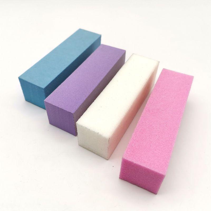 Wholesale  - プロの高品質10ピース混合カラーバッファブロックアクリルネイルアートのヒントサンディングファイル