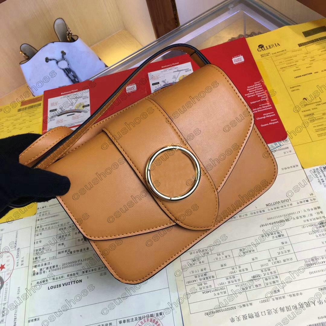 M55948 PONT Designers Monedero Bolso 9 Bolsa Mensajero Hombro Para Mujer Crossbody Cuero Cuero Cuero Monedero Signature Handbag Clutch Círculo Debido UJTU