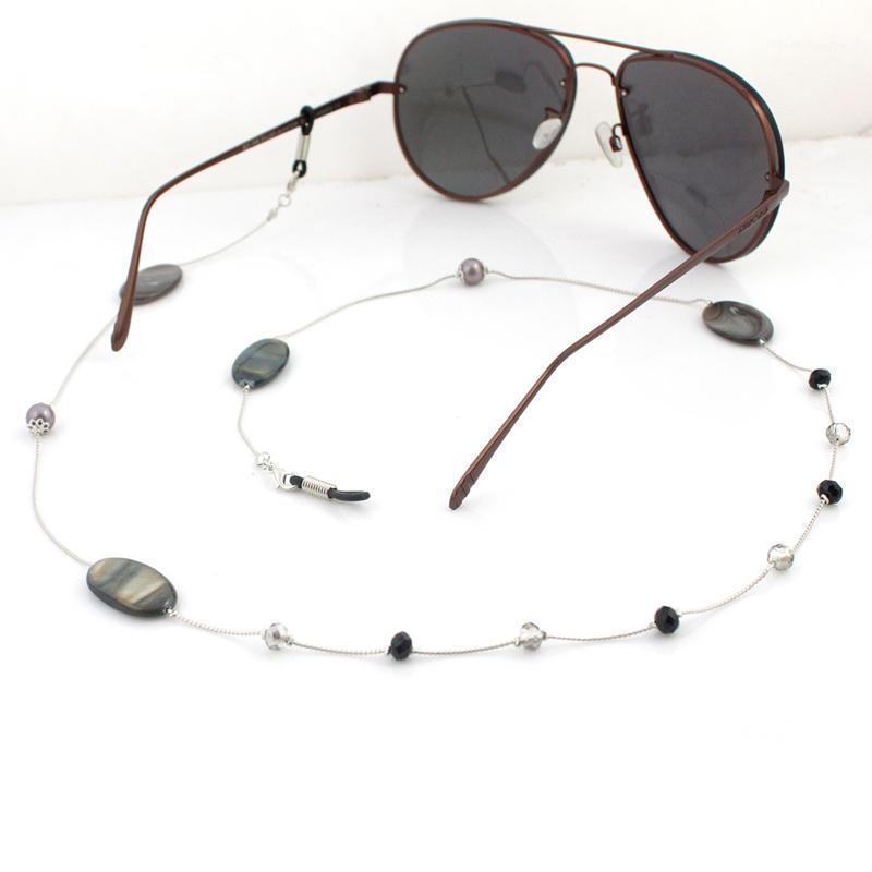 Shell Acrílico Pérola Beads Link Chain Óculos Correntes De Óculos Corda Titular Óculos De Sol Corda Corda Gola Band Band Acessórios1
