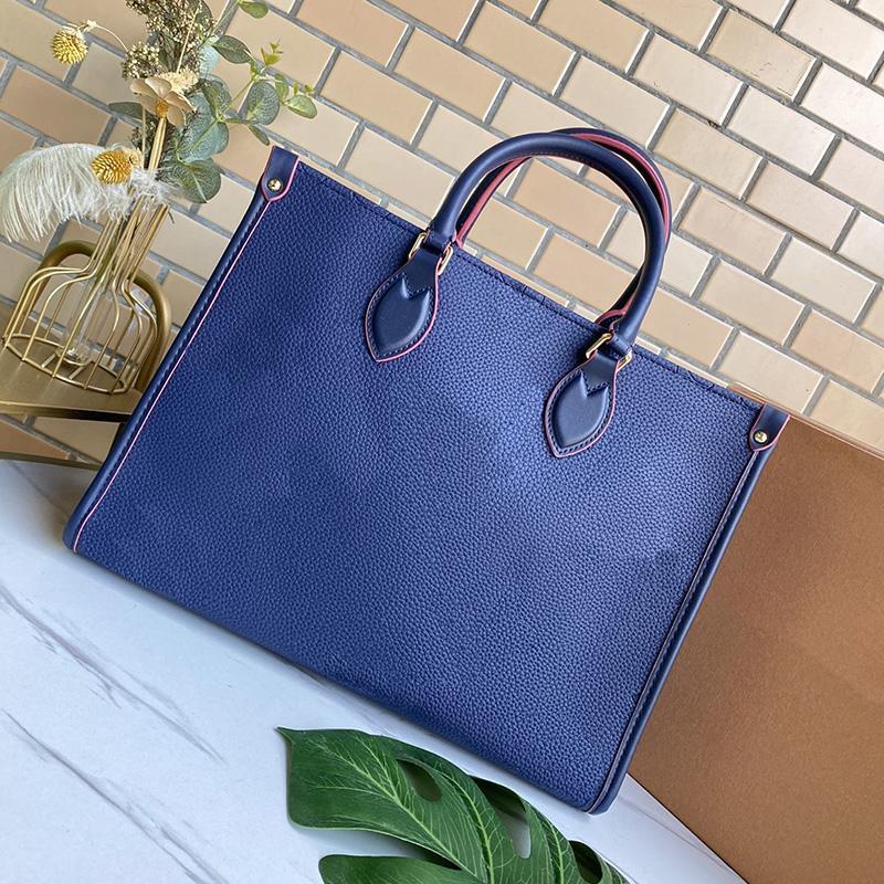 Lo nuevo del cuero mujeres de la marca bolsos de manera femenino de la madre del paquete 100% cuero auténtico bolsas de hombro bolsa Negro Blanco Señora Shopping bolsos