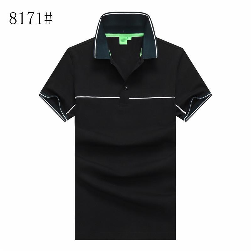 Alemán Brand Designer Camiseta para hombre Camiseta de verano de color sólido Cuello redondo Casual Media manga camiseta Hombre de manga corta clásico