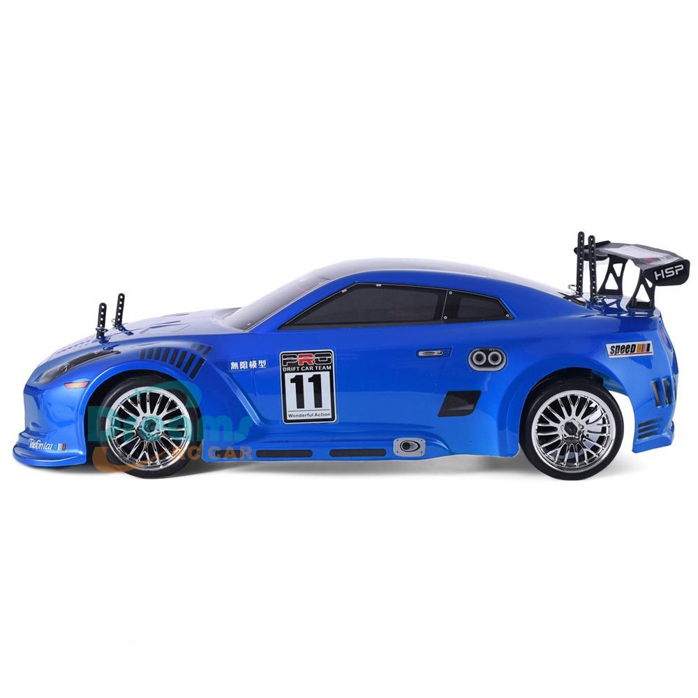 HSP RC Auto 4WD 1:10 auf der Straße Racing Zwei Geschwindigkeit Drift Fahrzeug Spielzeug 4x4 Nitro Gasleistung High Speed Hobby Fernbedienung Auto 201218