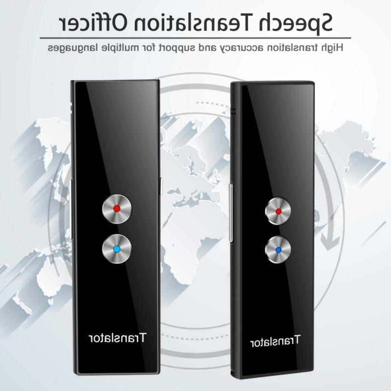 3EDS1PC Mais Novos Translaty Instant Instant REAL Voice Voice Multi-Languagestranslator Tradutor de voz portátil para iOS Android Thonesw