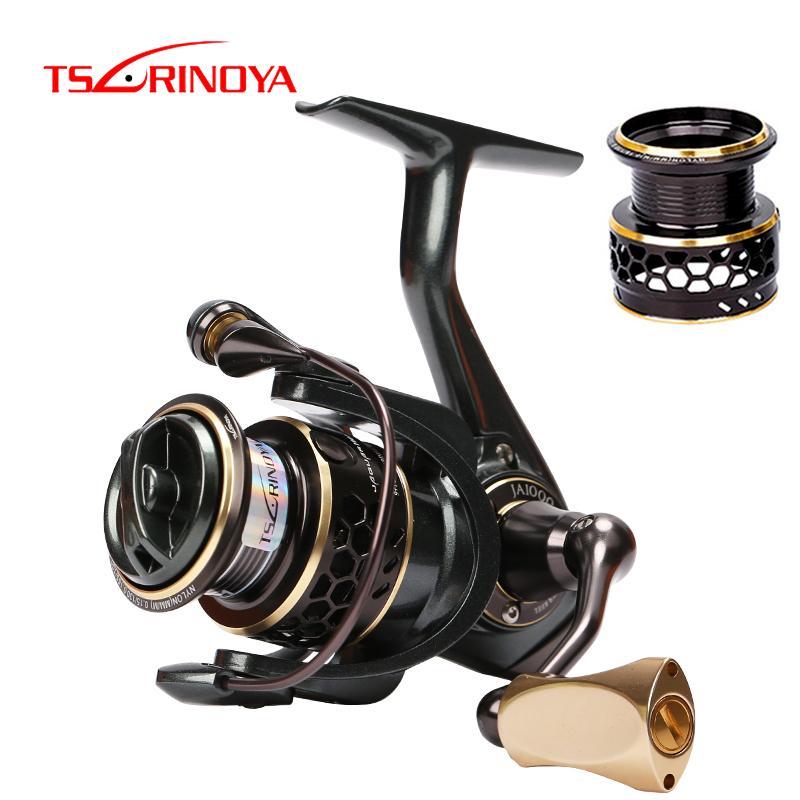 Tsurinoya jaguar carretel de pesca girando 4000 3000 2000 1000 baixo perfil Double carretel pesca girando rolo de água salgada reel z1128