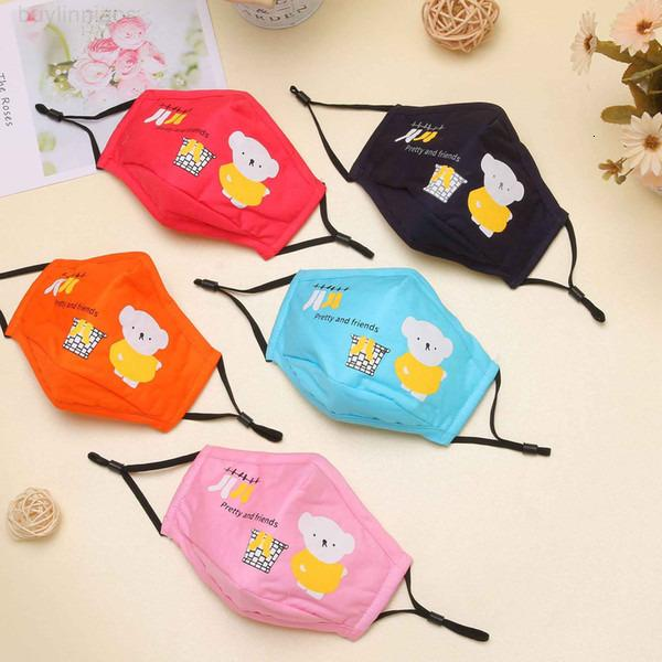 Tigre crianças urso panda coruja algodão lavável face máscara coelho crianças anti-poeira impresso outdoor partido meninos e meninas bonitos moda máscaras