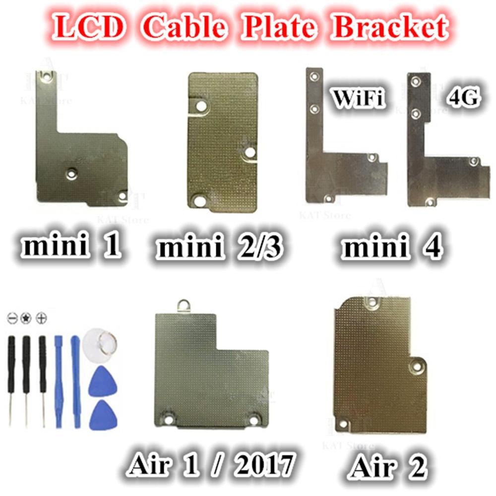 1 قطع lcd فليكس كابل لوحة حامل قوس معدني ل ipad 2017 2018 الهواء 1 2 ميني 1 2 3 4 شاشة lcd لوحة كابل استبدال أجزاء