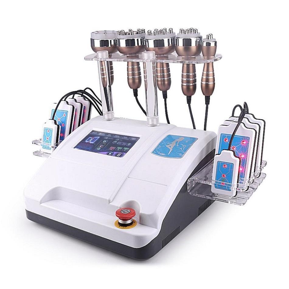 2020 Cavitación al vacío RF BIO BIO ULTRASONIC 40K LIPO Cavitación láser 6 ES 1 Máquina de pérdida de grasa de peso