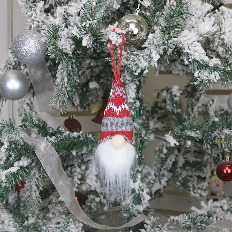 3Acx Saludos Sociales Ornamentos de Navidad Cuarentena Navidad Fiesta de cumpleaños Pandemic DIY Distención Árbol de Navidad Accesorios Colgantes GWF1685