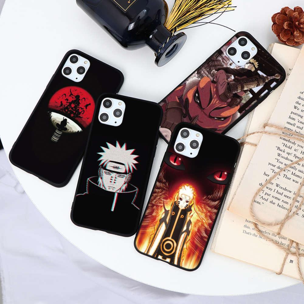 1dwjapane Animation Couverture de téléphone mobile Naruto, VIP 11 PRO, 7, 8 plus, X, XR, XS, max, 5, 6 s plus, SE2020 Housse antichoc