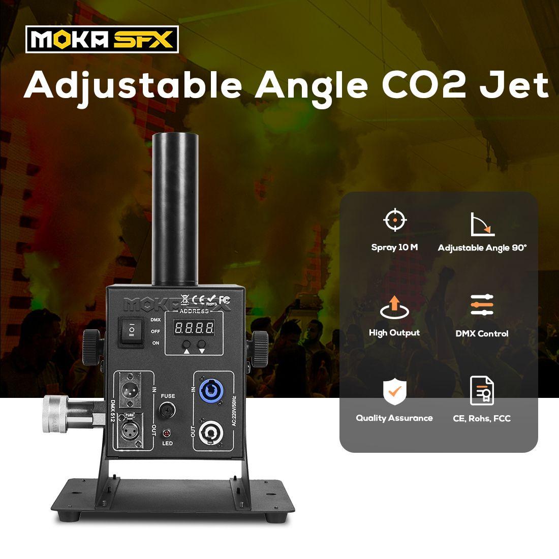 CO2 Cryo Jet Shoot 8-10 mètres Force FX CO2 JET CO2 CO2 CO2 DUMON CONTRÔLE POUR CONCERT DISCO Party Effets spéciaux