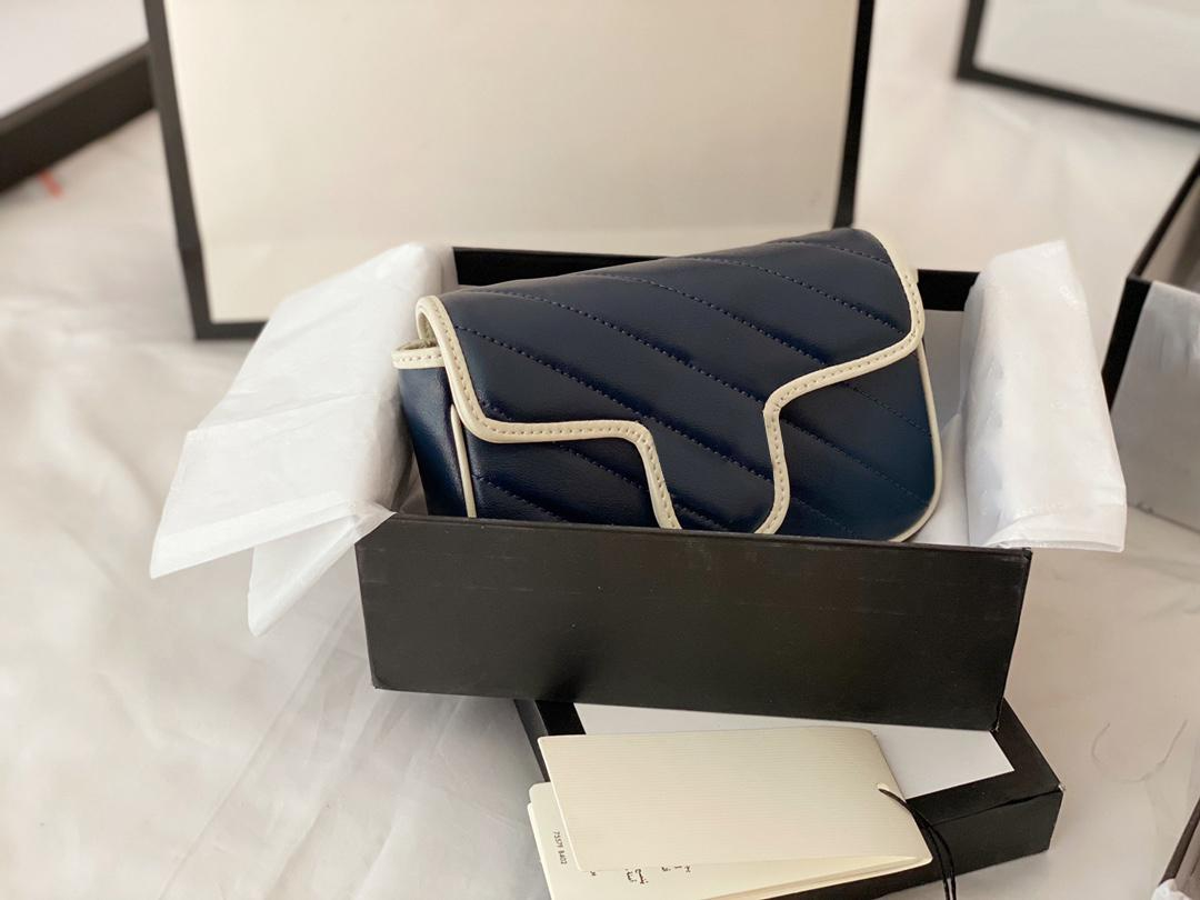 Sacs de carrosserie à l'épaule de mode Femme Classic Hot Selling Designer Sacs 2020 Modèle spécial rétro de qualité supérieure Pupportal Metal Porte-monnaie