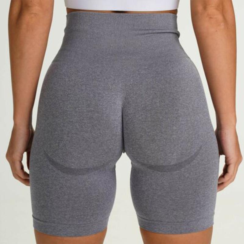Dikişsiz Yoga Şort Tayt Kadınlar Yüksek Bel Karın Kontrol Koşu Tayt Squat Geçirmez Spor Legging Spor Egzersiz Pantolon