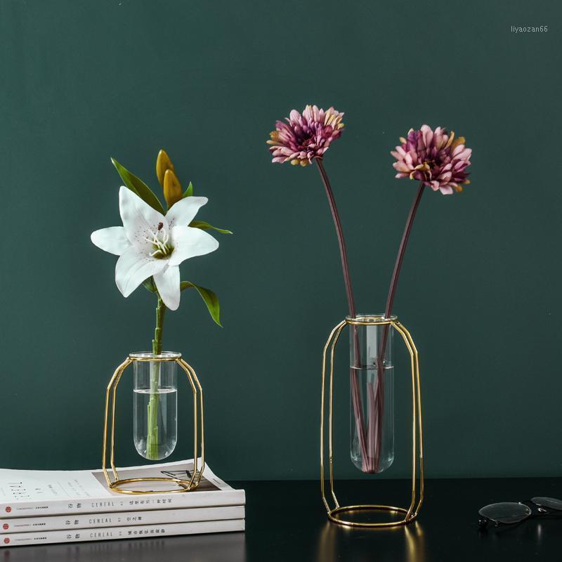Уникальная металлическая гидропонная ваза из нержавеющей стали из нержавеющей стали, висит геометрические растения ваза северного стиля украшение дома1