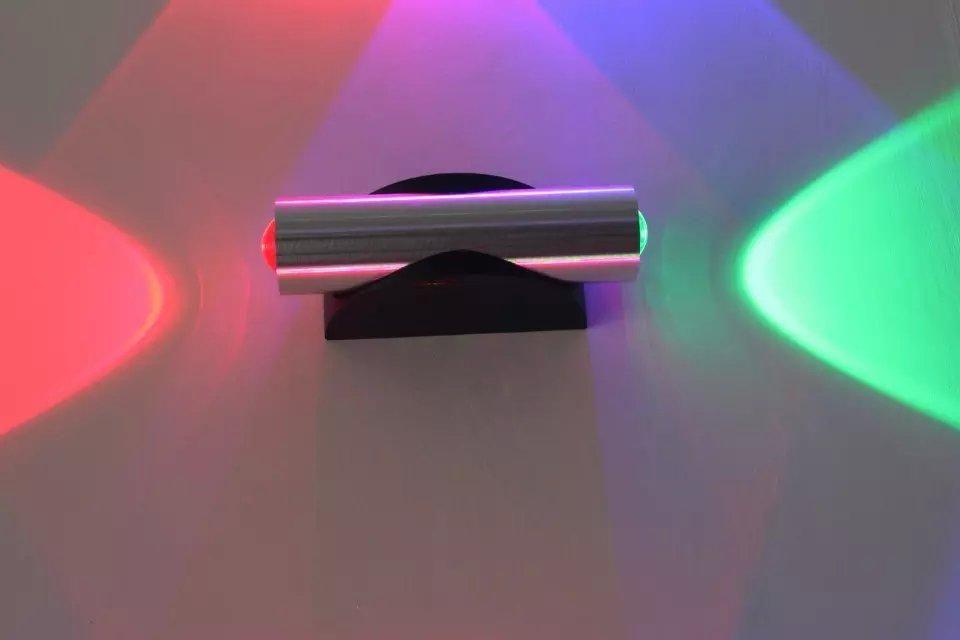 Luces LED LIMITED LIMITED 220V CE 2020 Новый дизайн освещает 2 * 1W SPOT 1 шт. / Лот светодиодный настенный светильник с высоким люменом огни, бесплатная доставка