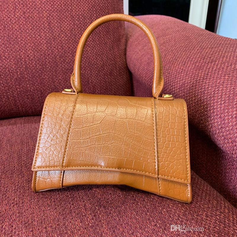 Klasik kum saati şekli timsah çanta flap zincir omuz çantaları çanta kadın debriyaj messenger çanta çanta alışveriş tote