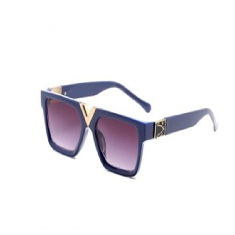 2020 Mit Kasten Luxus-High 2371Qualität Classic Pilot Sonnenbrille Designer Marke Herren Womens Sonnenbrille Brillen Metall Glaslinsen