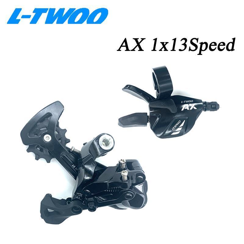 دراجة derailleleurs ltwoo ax13 1x13s 13 فولت 13 فولت مجموعة سرعة التحول رافعة وخلفي derailleur الكربون قفص ل أجزاء دراجة MTB 46T 50T 52T