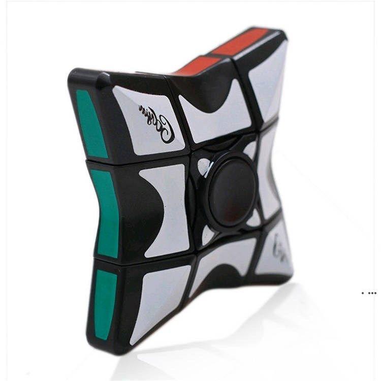 Rubik's Cube أعلى الدرجة الأولى الجديدة 6 * 6 Fingertip Rubik's Cube أعلى، الدوران الأعلى، أطفال الضغط، لغز لعبة سلسلة HWF56