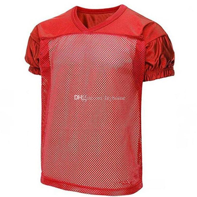 Número feito sob encomenda do futebol do futebol Jersey Soccer997585 Kits Azul Vermelho preto branco da cor personalizada faz personalizado
